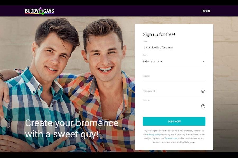 buddygays login page