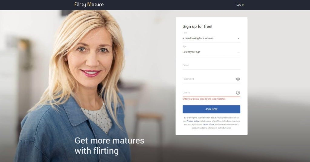flirtymature login