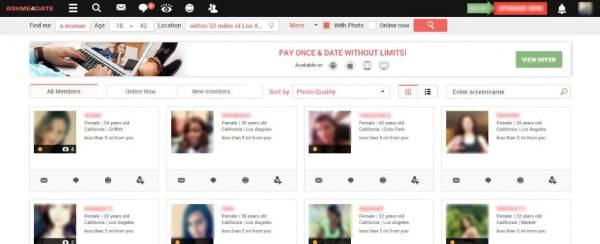 Profile Quality At AskMe4Date