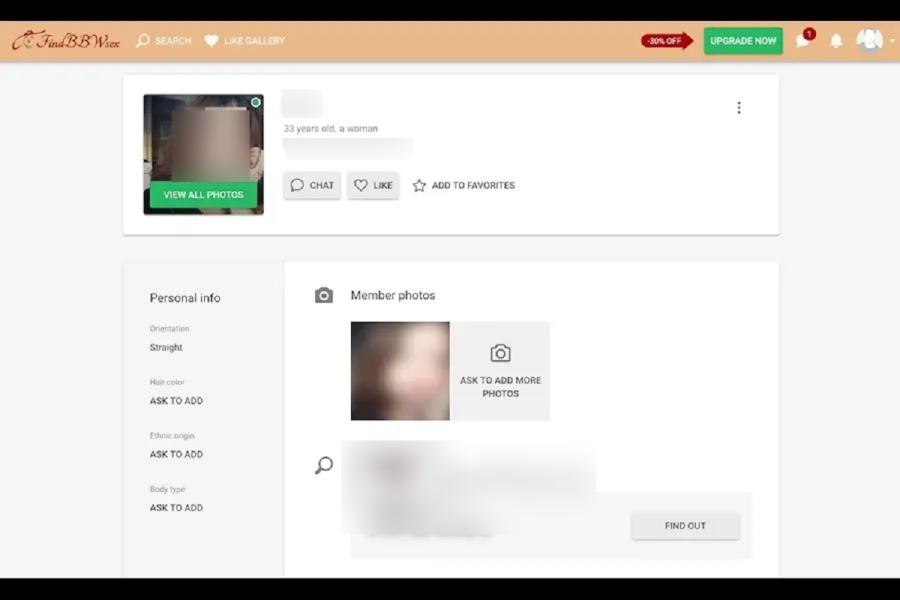 Profile Quality at Findbbwsex