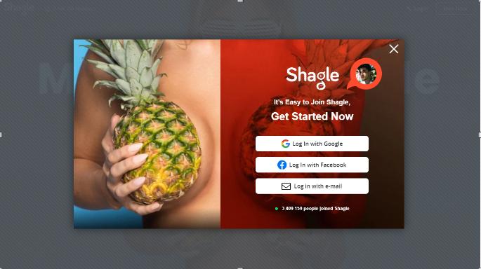shagle sign up